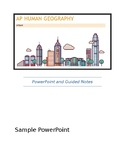 AP Human Geography - Urban PowerPoints and Guided Notes