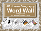 AP Human Geography Word Wall (Religion)