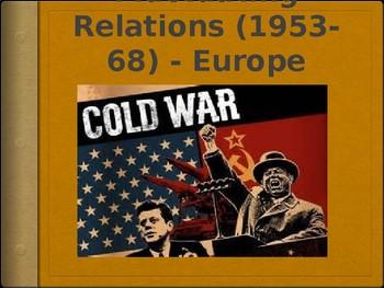 AP - IB Cold War in Europe Powerpoint (1953 - 1968)