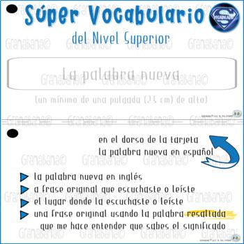 Súper Vocabulario del Nivel Superior
