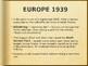 AP - IB World War II Powerpoint (1939 - 1940)