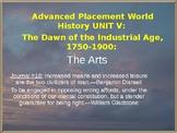 AP Industrial Revolution: The Arts