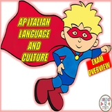 AP Italian Language and Culture Exam Overview