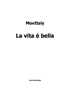 AP Italian: MovItaly, La vita è bella