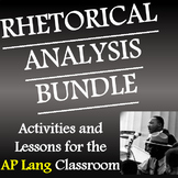 AP Lang Rhetorical Analysis Bundle