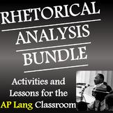 AP Lang Rhetorical Analysis Bundle