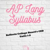 AP Lang Syllabus