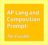 AP Lang and Comp: The Crucible