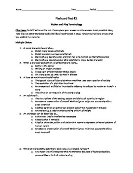 AP Lang and Lit ULTIMATE Vocabulary List TEST Part 2