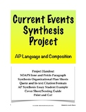 Current Events Synthesis Essay; AP Lang and Comp; (AP Language and Composition)