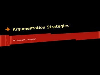AP Language - Arguments of Fact, Value, & Policy