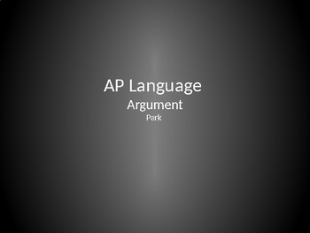 AP Language & Composition - Argument Essay Review