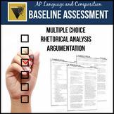 AP English Language & Composition Baseline Assessment