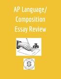 AP Language / Composition - Essay Review