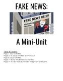 AP Language / Composition - Fake News Mini - Unit