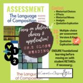 AP Language & Composition Figurative Language Assessments--Blue and Orange