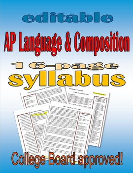 AP Language & Composition Syllabus: College Board Approved