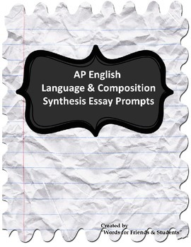 ap language synthesis essay