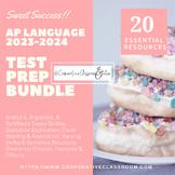 BACK TO SCHOOL!! AP Language & Composition TEST PREP BUNDLE!!