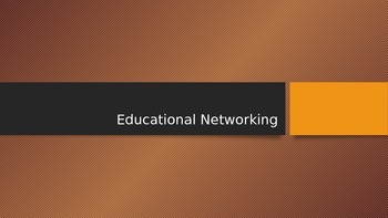 AP Language- Educational Networking Activity PPT