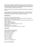 AP Language Parallel Reading List