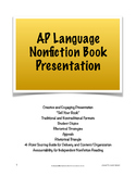 "AP Lang & Comp Independent Nonfiction Book Presentation; ""Sell Your Book"""