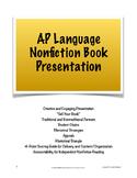 "AP Lang & Comp Independent Nonfiction Book Presentation; """