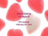 AP Language Speed Dating/Rhetorical Strategies