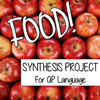 AP Language Synthesis Project on Food