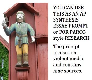 AP Language Synthesis Prompt / PARCC-style Research