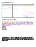 AP Language What-How-Why Chart Practice