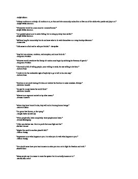 AP Language and Composition-APHORISM