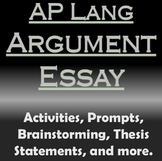 AP Language and Composition - Argument Essay