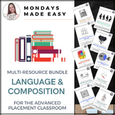 AP Language and Composition BUNDLE, Rhetoric, Synthesis, Expository and Argument