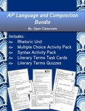 AP Language and Composition Bundle