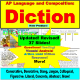 AP Language and Composition, Diction