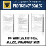 AP English Language and Composition Essay Proficiency Scales