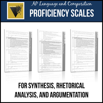 ap english language and composition essay proficiency scales  tpt