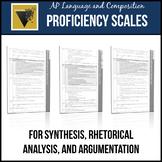 AP English Language and Composition Essay Proficiency Scales