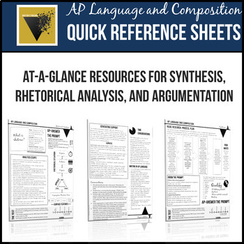 AP English Language and Composition Resource Bundle