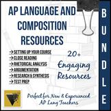AP English Language and Composition Resource MEGA Bundle