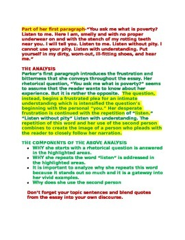 AP Language and Composition  How to Write a Language Analysis Essay