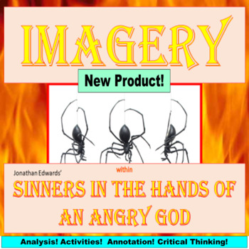 AP Language and Composition, Imagery, Sinners in the Hands of an Angry God