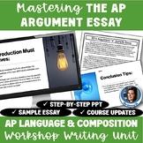 AP Language and Composition: Mastering the Argumentative Essay Activity Set