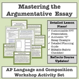 AP Language and Composition: Mastering the Argumentative E
