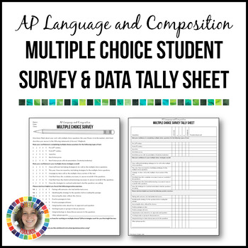 AP Language and Composition Multiple Choice Survey & Data