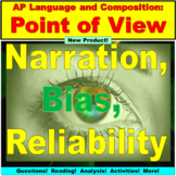 AP Language and Composition, Point of View Rhetorical Analysis