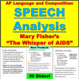 AP Language and Composition, Speech Analysis, Mary Fisher'