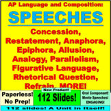 AP Language and Composition: Rhetorical Tools for Public Speaking