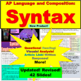 AP Language and Composition, Syntax
